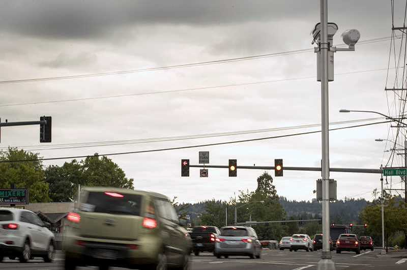 PMG FILE PHOTO - If all goes as planned, the city of Tigard will take over three miles of Hall Boulevard from the Oregon Department of Transportation, a move that will allow for more control of how the road will look and be maintained in the future.