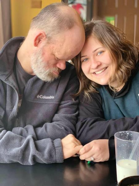 COURTESY PHOTO: COMMUNITY ACCESS SERVICES - The Impact Oregon job board now carries job listings for direct support professionals for people with disabilities. Here a DSP staffer is supporting client in Clatskanie in a residential services setting