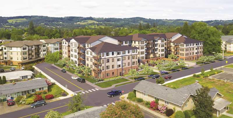 COURTESY RENDERING: FRIENDSVIEW RETIRMENT COMMUNITY - Friendsview will add considerable to its already expansive facilities in 2022.