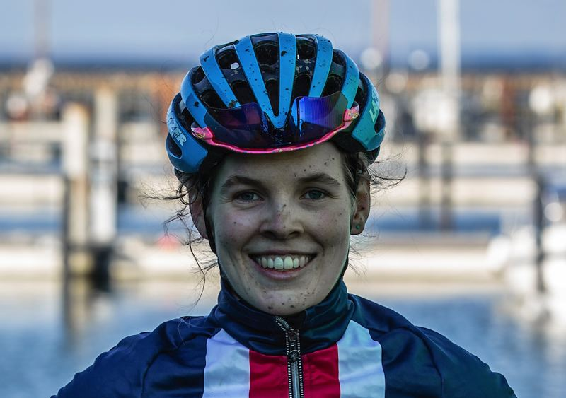 COURTESY PHOTO: USA CYCLING - Clara Honsinger was the top finisher for Team USA at the Jan. 30 cyclo-cross world championships.