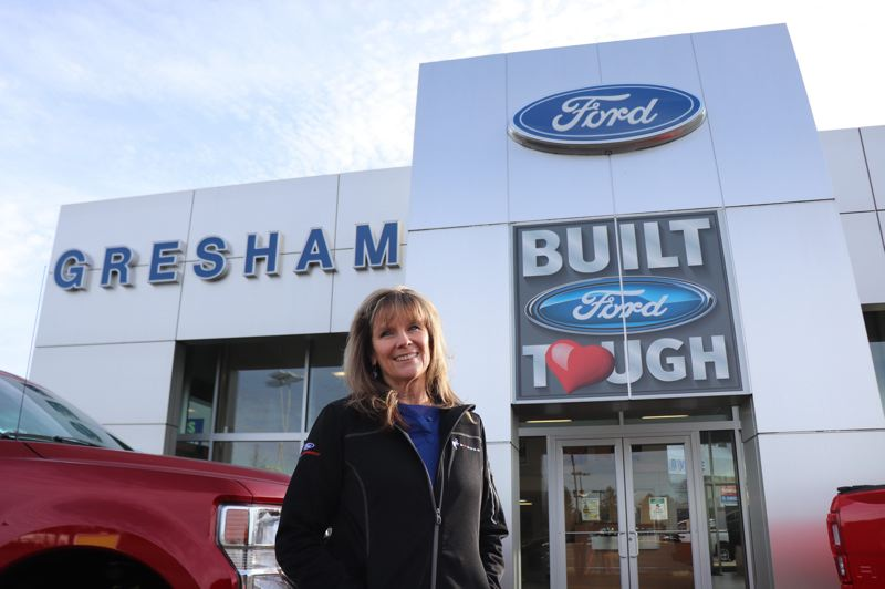 PMG FILE PHOTO - Amy Tipsord, Gresham Fords commercial accounts and events manager, has played a key role in putting together the Love Project.