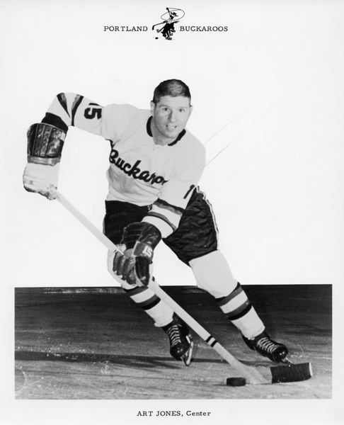 COURTESY PHOTO: PORTLAND WINTERHAWKS FILES - Art Jones was a smooth skating center who played for the Portland Buckaroos for all 14 of their seasons in the Western Hockey League.