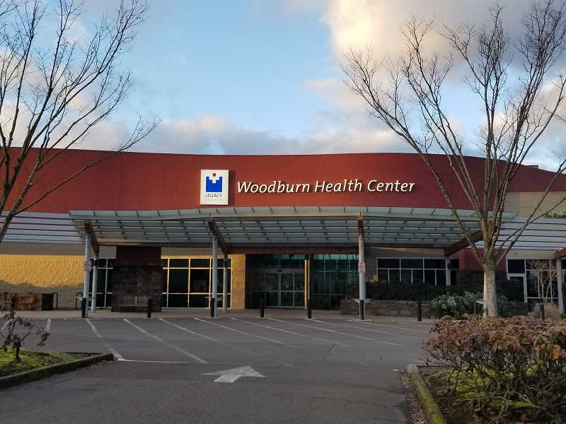 COURTESY PHOTO: LEGACY HEALTH CENTER - Legacy Woodburn Health Center in Woodburn closed on Friday, Feb. 12, due to inclement weather.