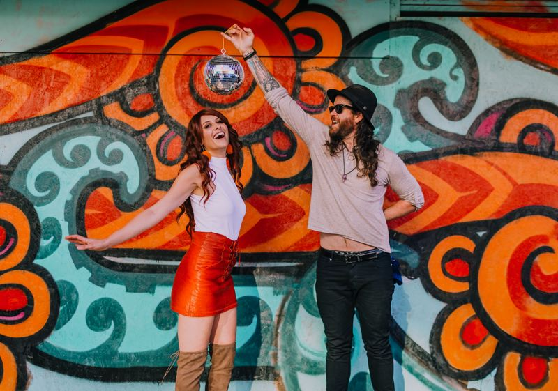 COURTESY PHOTO: AMANDALA PHOTOGRAPHRY - Sarah Vitort and Scott Gilmore, aka Fox and Bones, have been off the road for a year, but they have new music coming out.