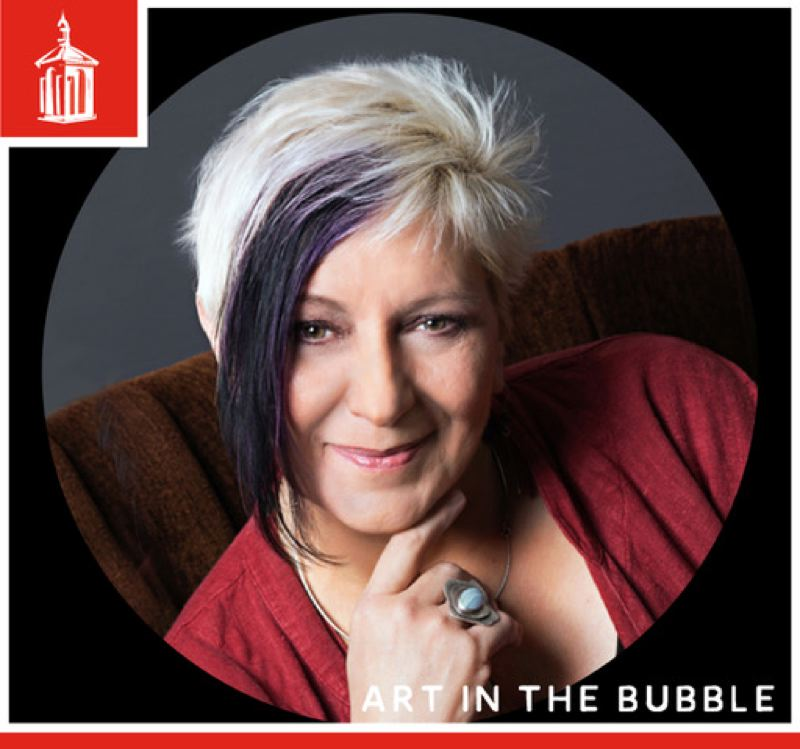 COURTESY PHOTO: LAKEWOOD CENTER FOR THE ARTS - Artist and web designer Leslie Zemenek will be the featured presenter during the Feb. 24 'Art in the Bubble' series.