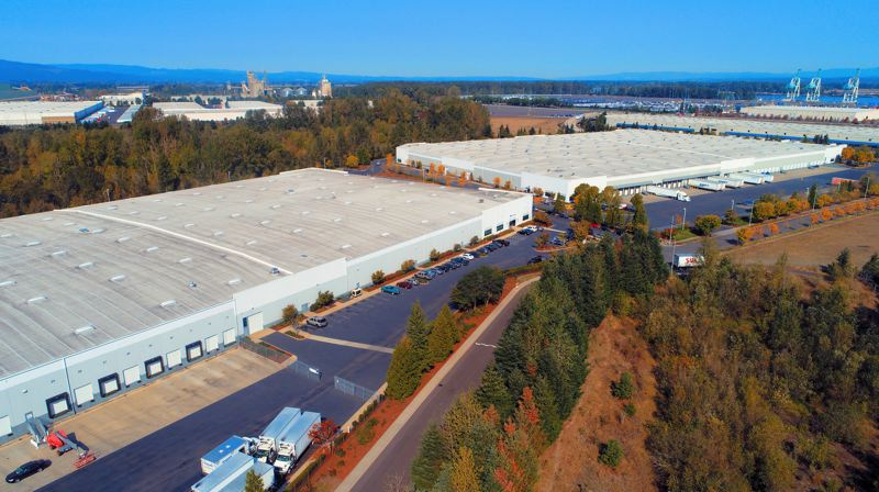 COURTESY PHOTO: CBRE - Los Angeles-Based Investment Firm PCCP just bought Bybee Lake Logistic Center I & II   for $82.5 Million