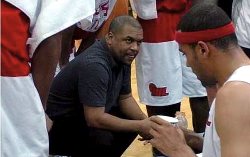 COURTESY PHOTO - New Reynolds High School boys basketball coach Terrance Dickens coached the Portland Chinooks to three IBL runner-up finishes.