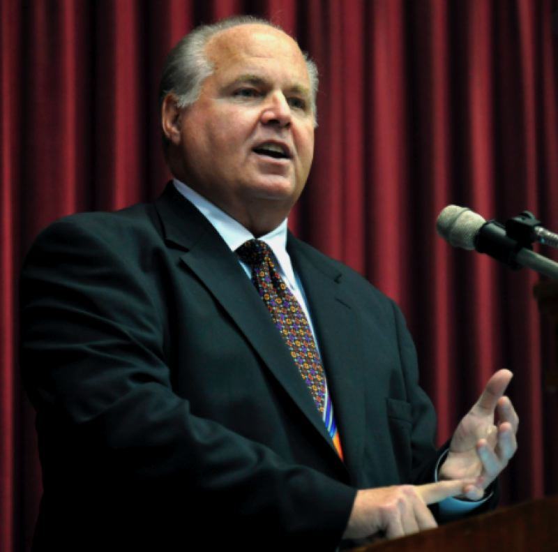 COURTESY PHOTO: KOIN 6 NEWS - Rush Limbaugh died on Wednesday, Feb. 17, at the age of 70.
