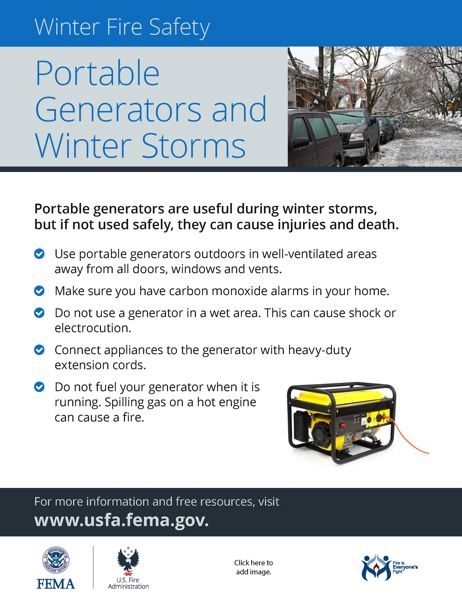 PHOT COURTEST OF FEMA - The Clackamas County Sheriff's Office is sharing some tips on geneator safety following four deaths and several close calls involving carbon monoxide poisoning.