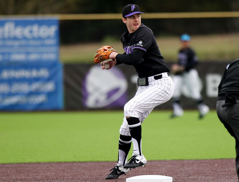 COURTESY PHOTO: UP ATHLETICS - Shortstop Chad Stevens, a preseason WCC all-conference selection, is part of a sharp-fielding defense that the Pilots believe will be a foundation for success jn 2021.