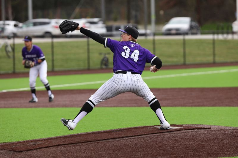 COURTESY PHOTO: UP ATHLETICS - Fourth-year starting pitcher Eli Morse, out of Cleveland High, is part of a deep pitching staff that he believes can help the Pilots contend in the West Coast Conference.