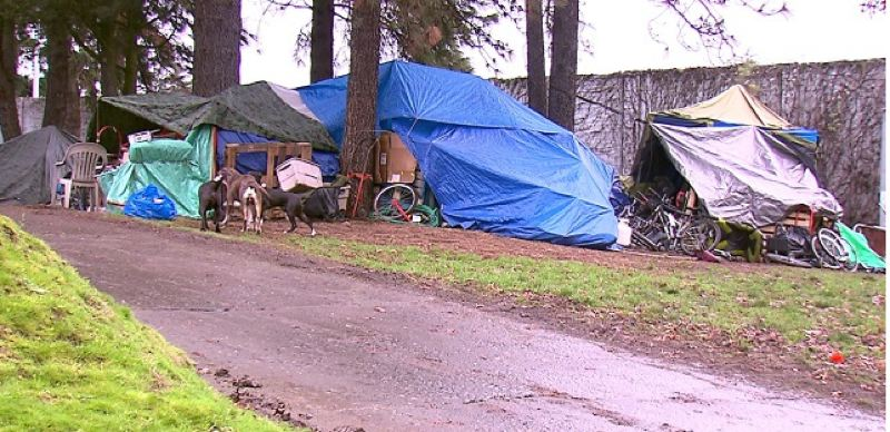 COUTESY PHOTO: KOIN 6 NEWS - The Joint Office of Homeless Services is looking for alternative shelter providers.