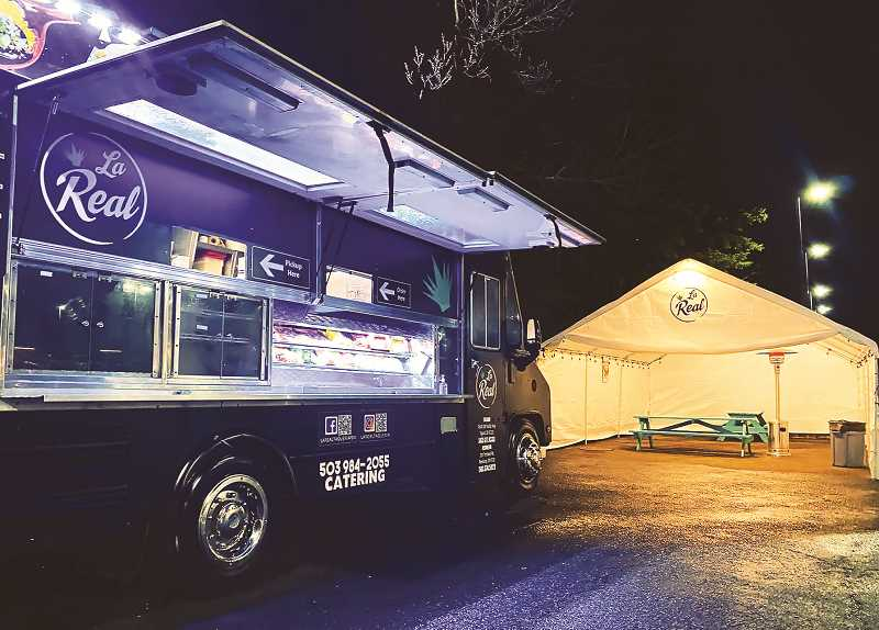 COURTESY PHOTO: LA REAL TAQUERIA - La Real Taqueria has expanded its operations from its Tigard headquarters to include a truck parked on Portland Road in Newberg.