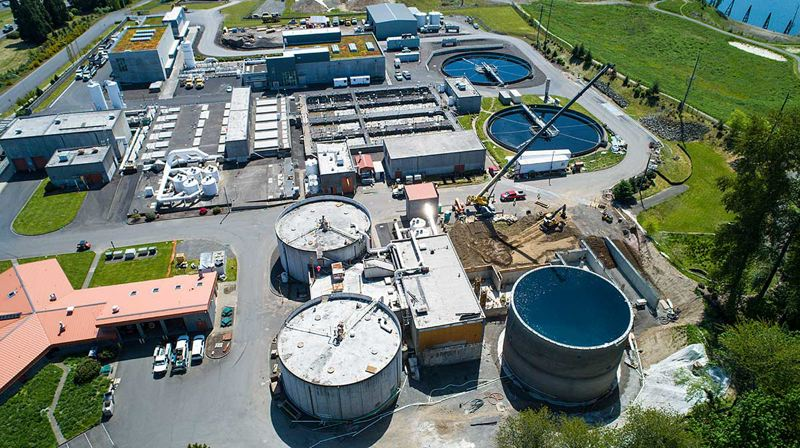 FILE PHOTO  - Clackamas Water Environment Services pivoted quickly Sunday, Feb. 14., to prevent an even larger catastrophe when the plant lost power and allowed partially untreated sewage to escape into the river.