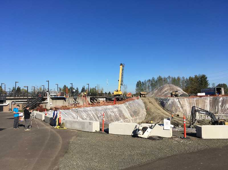 COURTESY PHOTO - A view of the secondary clarifier project at the Clean Water Services Forest Grove Treatment Facility expected to be completed this coming summer.