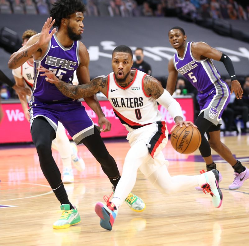 COURTESY PHOTO: BRUCE ELY/TRAIL BLAZERS - Damian Lillard was edged out for a starting spot in the NBA All-Star Game, March 7 in Atlanta.
