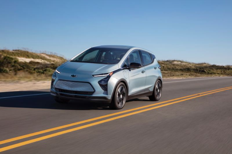 COURTESY CHEVY - The new Chevy Bolt.