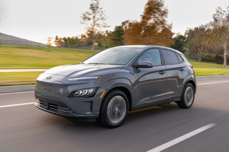 COURTESY HYUNDAI - The all-new 2021 Hyundai Kona Electric.