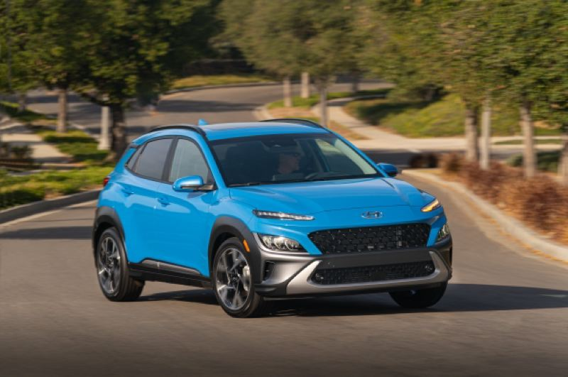 COURTESY HYUNDAI - The 2021 Hyundai Kona.