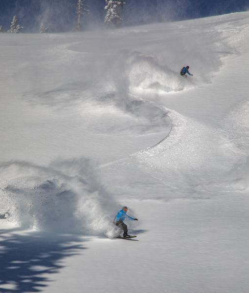 COURTESY PHOTO: MT. HOOD MEADOWS/RICHARD HALLMAN - Mt. Hood Meadows has amassed a base area of snow of 11 feet and anticipates receiving more.