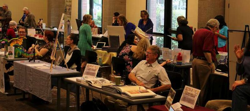 COURTESY PHOTO: BEAVERTON CITY LIBRARY - The Local Authors Fair at the Beaverton City Library in 2017. This year's event is free and highlights the works of authors in the tri-county area.