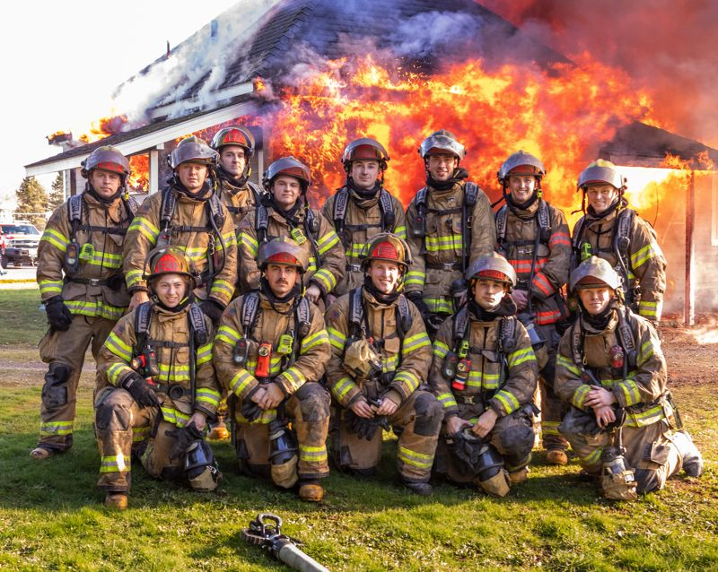 COURTESY PHOTO: GREG MUHR - Gresham Fire brought on a new group of firefighters to round out staffing for the first time in two years.