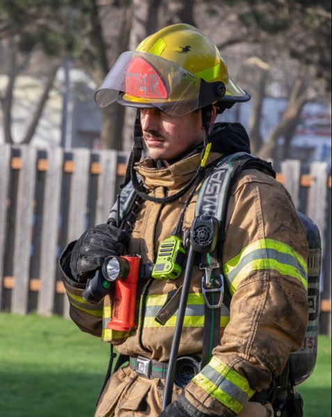 COURTESY PHOTO: SPENCER TEJEDAS - Spencer Tejedas joined Gresham Fire after a long career as a wildland firefighter with the U.S. Forest Service.