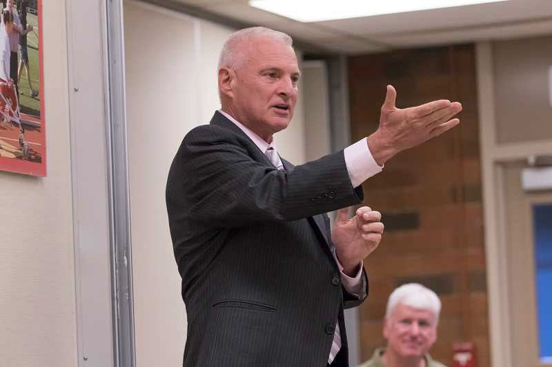 PMG FILE PHOTO - The Beaverton School District, led by Superintendent Don Grotting (pictured), reacted to a threatening comment on its Facebook page by banning the user and defending the work of its staff.