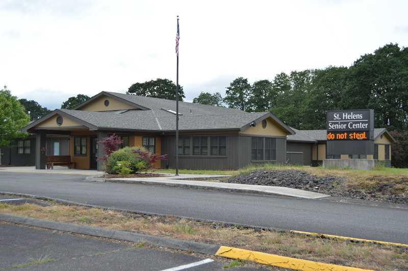 PMG FILE PHOTO - The St. Helens Senior Center usually hosts a free tax preparation service in the lead-up to April 15, but the pandemic has fouled those plans so far in 2021.