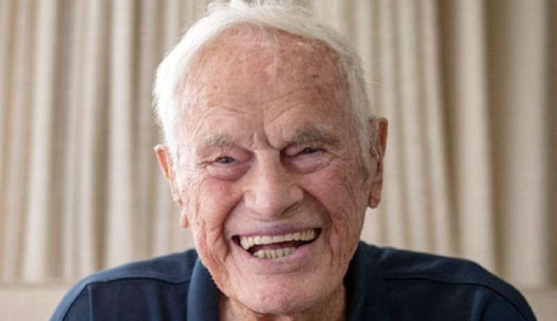 PMG FILE PHOTO - Bud Lewis passed away at 100.