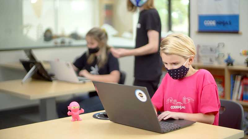 COURTESY PHOTO: CODE NINJAS - Code Ninjas has a new location in Bethany. The business opened last month and offers in-person and remote programs for children.