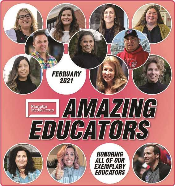 PMG GRAPHIC - Pamplin Media Group's inaugural Amazing Educators publication is available in the print edition of the Woodburn Independent's Feb. 24 issue.