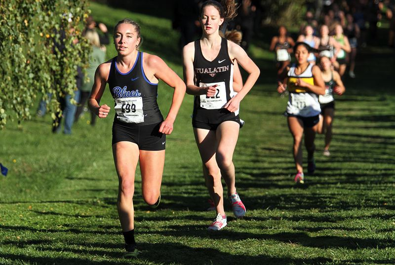 PMG PHOTO: MILES VANCE - The OSAA announced Feb. 17 that it would not hold state championships in Season 1 - meaning no state cross country meet, football plaoffs etc. - and would instead return control of the 'culminating week' to individual schools.