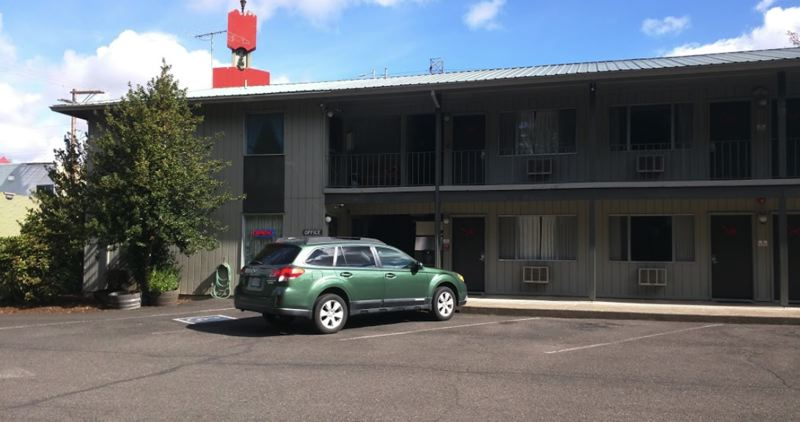 COURTESY PHOTO - Clackamas County was previously considering the Red Fox Motel as the site for Project Turnkey but opted to not move forward with the project.