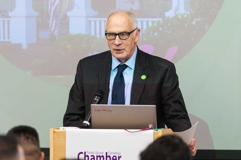Forest Grove mayor delivers 'State of the City' address