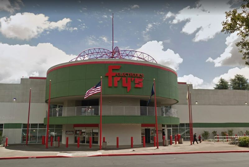 VIA GOOGLE MAPS - Fry's Electronics in Wilsonville is closing for good.