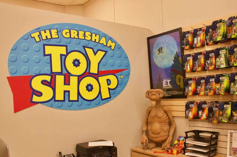 PMG PHOTO: CHRISTOPHER KEIZUR - The Gresham Toy Shop, on Main Ave., offers vintage collectibles with a touch of nostalgia.