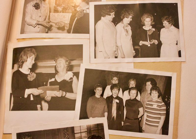 COURTESY PHOTO: GRESHAM AAUW - Photos from the inaugural meeting of the Gresham branch of the American Association of University Women in 1971.