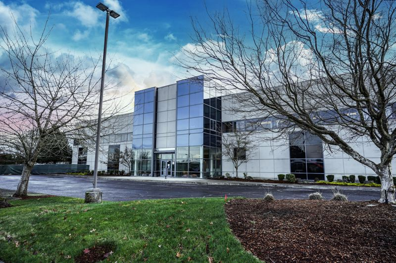 COURTESY PHOTO: NTT GLOBAL DATA CENTERS  - NTT's master plan considers growth in demand. NTT plans to put five buildings on the Hillsboro campus, starting with the one that just opened. Each will be about 36 megawatts of capacity.