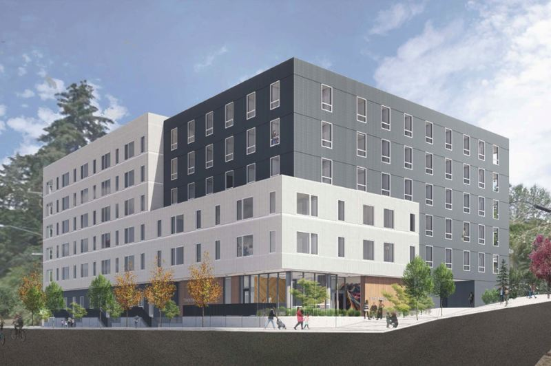 COURTESY PHOTO: METRO - The Viewfinder apartments in the Tigard Triangle is a $32 million project set to open this fall.