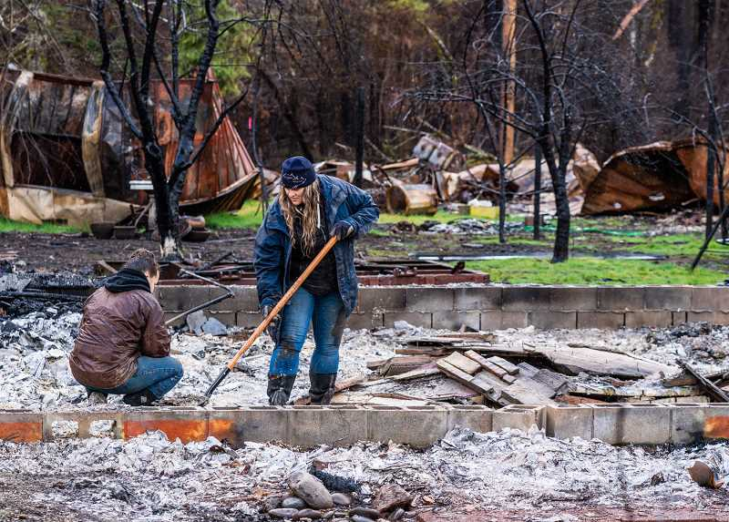 COURTESY PHOTO: TOM ATKINSON, R3DIGITAL - The McKenzie Community Development Corporation, one of the 26 Oregon Consumer Justice grant recipients, received a $25,000 grant in response to the impact of last falls devastating wildfires on the region.