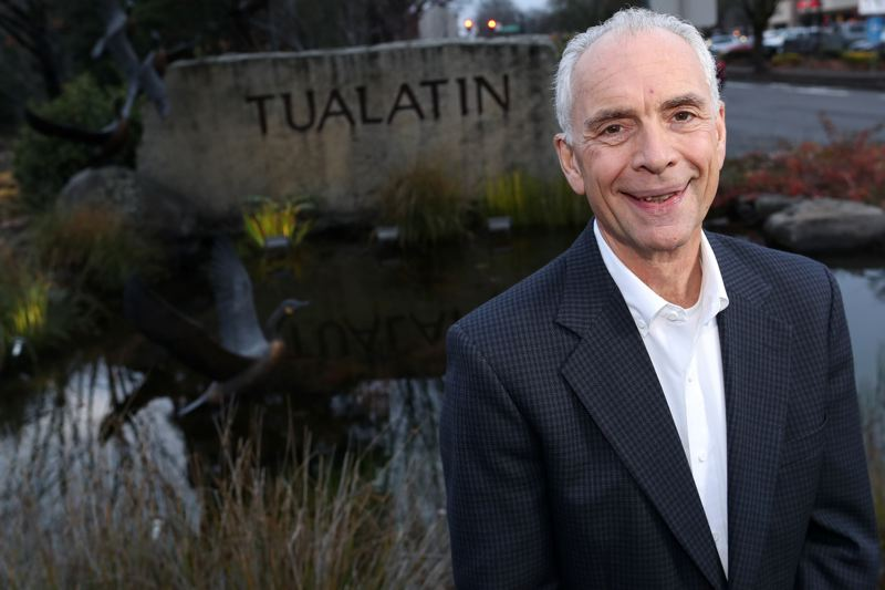PMG PHOTO: JAIME VALDEZ - Lou Ogden served as mayor of Tualatin for almost a quarter of a century and ran for statewide office in 2018.