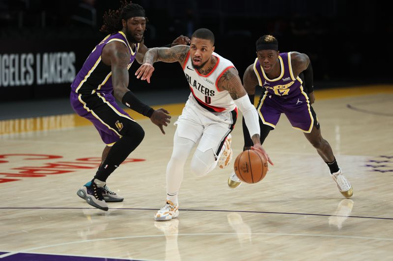 COURTESY PHOTO: BRUCE ELY/TRAIL BLAZERS - Damian Lillard return to the Moda Center for three games after an 0-3 road trip.