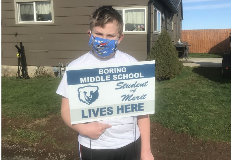 Middle school officials work to boost morale through virtual events