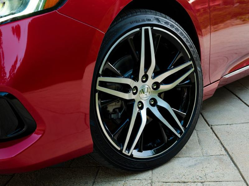 COURTESY HONDA - The 2021 Honda Accord Hybrid is available with unique and very attractive alloy wheels.