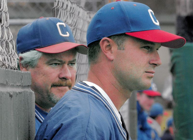 COURTESY PHOTO: LESLIE AMES - St. Helens grad Shorty Ames (left) managed the Humboldt Crabs — the oldest continually-operated summer collegiate baseball team in America — for a decade and led the team to an 80% winning percentage.