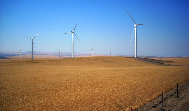 FILE PHOTO - Windmills generate power in Oregon and many other states.