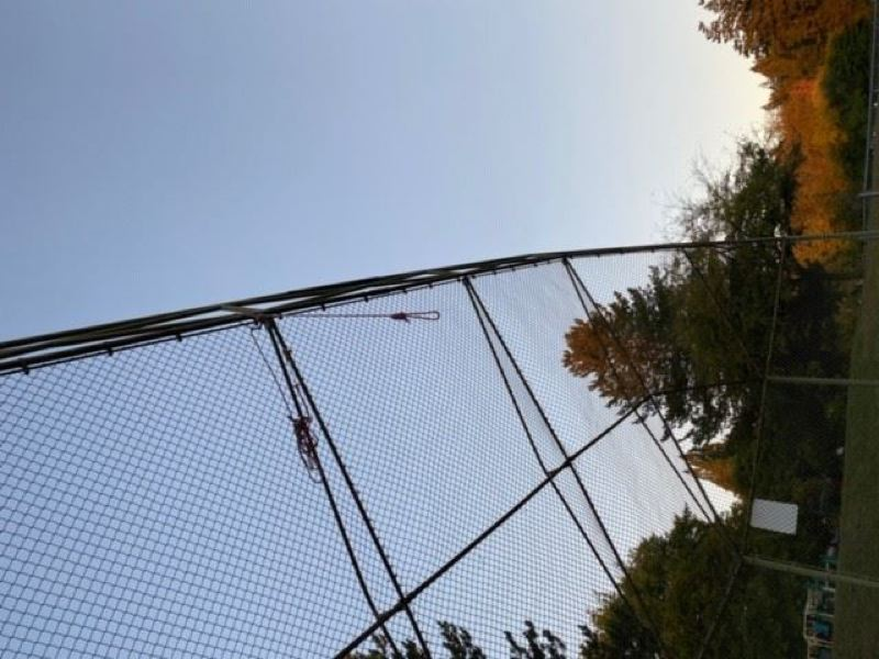 PHOTO COURTESY OF PORTLAND POLICE BUREAU - A rope tied like a noose was found at Hamilton Park near Bridlemile Elementary School in October. Proposed legislation would ban nooses and Confederate battle flags from school property.