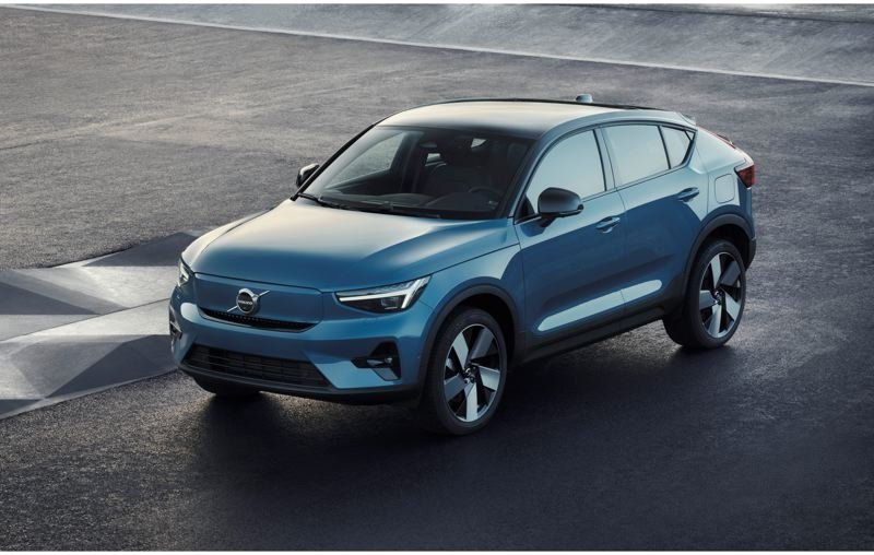 COURTESY VOLVO - The upcoming all-electric Volvo C40 Recharge is driv en by two electric motirs and has an initial range of around 260 miles, which is expected to improve over time via over-the-air software updates.
