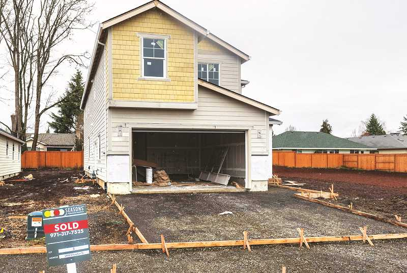 PMG FILE PHOTO - At its March 1 meeting, the Newberg City Council accepted a housing needs analysis and a housing strategy that provided suggestions to alleviate the burgeoning crisis. The analysis provided key data that can guide policy decisions moving forward, officials said.